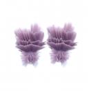 Fluffy M violet 4cm
