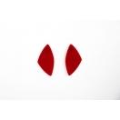 Geom II punane akrüül 4.04cm