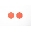 Rondel L oranz 3cm