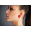 Kõrvarõngad HUNT L punane 3cm